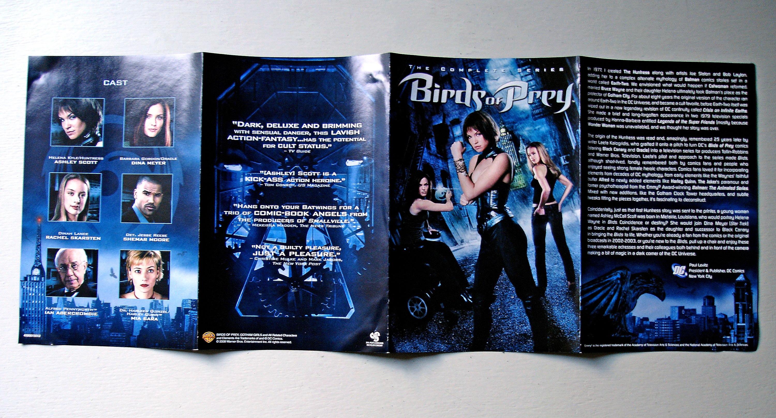 Birds Of Prey Complete Series Dvd Box Set B000smnl92 Dvdbash 11 Dvdbash