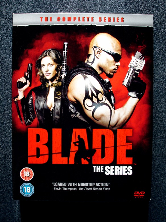 Blade TV show, complete DVD series, Jill Wagner and Sticky