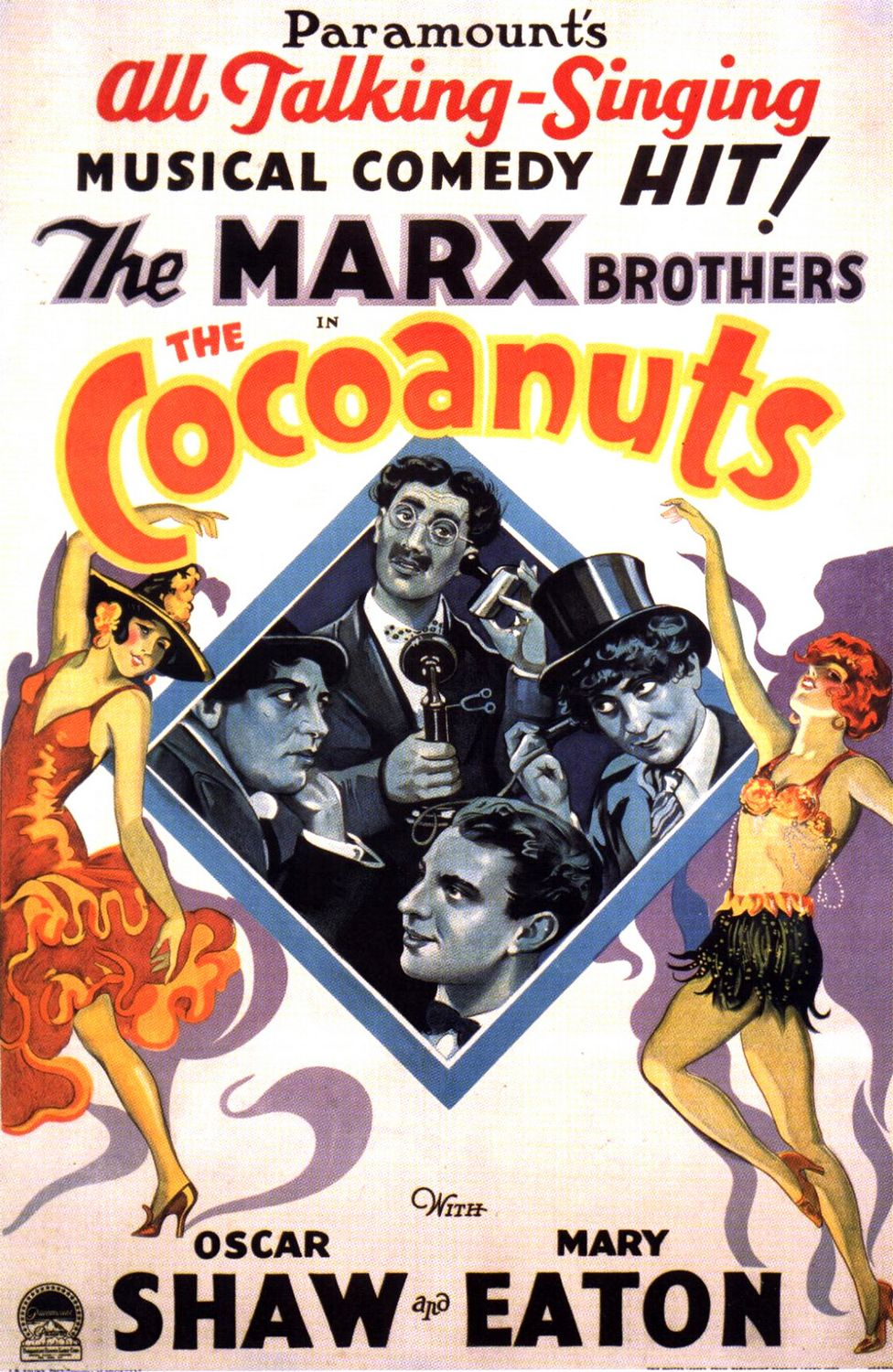 Marx Brothers, The Cocoanuts : DVDbash