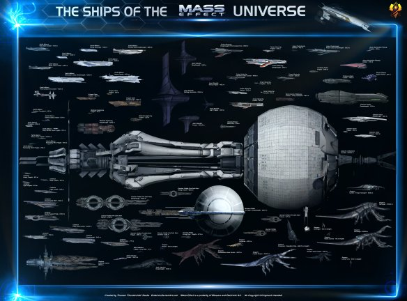 space ships star fleet mass effect - dvdbash