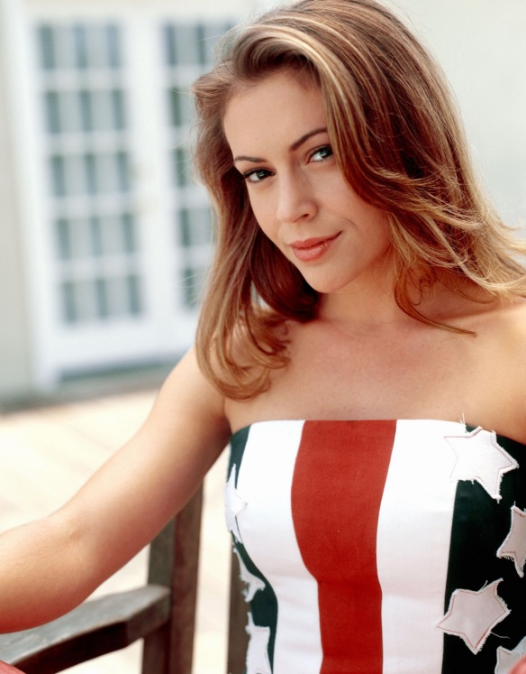 Alyssa Milano Phoebe Promo shots Charmed 4th season