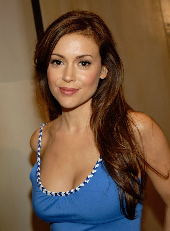 Alyssa Milano Los Angeles LA