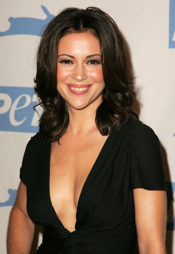 Alyssa Milano for PETA