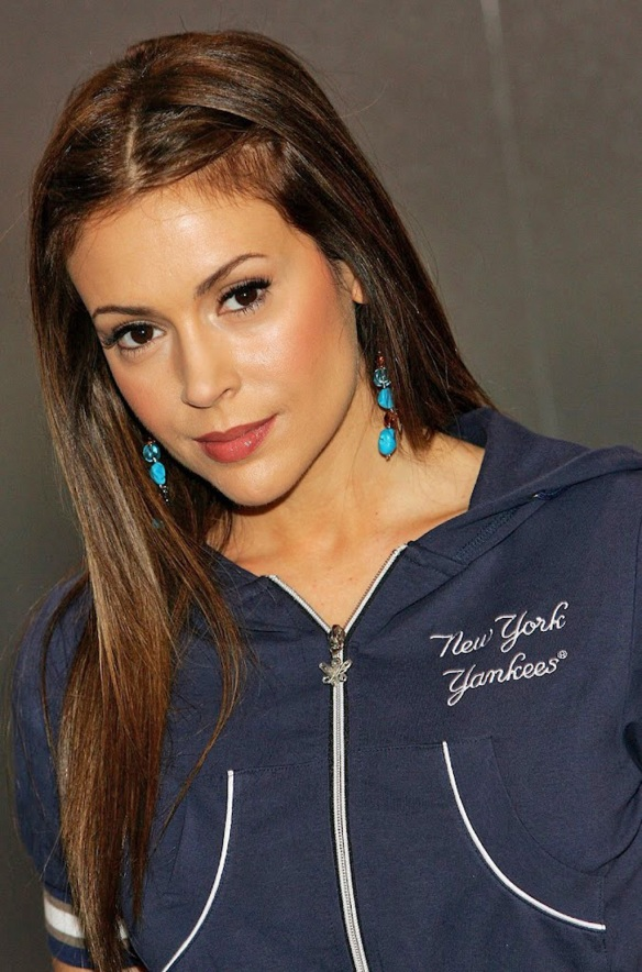 Alyssa Milano New York Yankees
