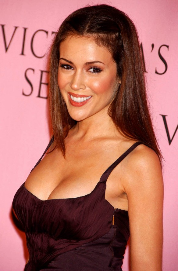 Alyssa Milano Victoria's Secret