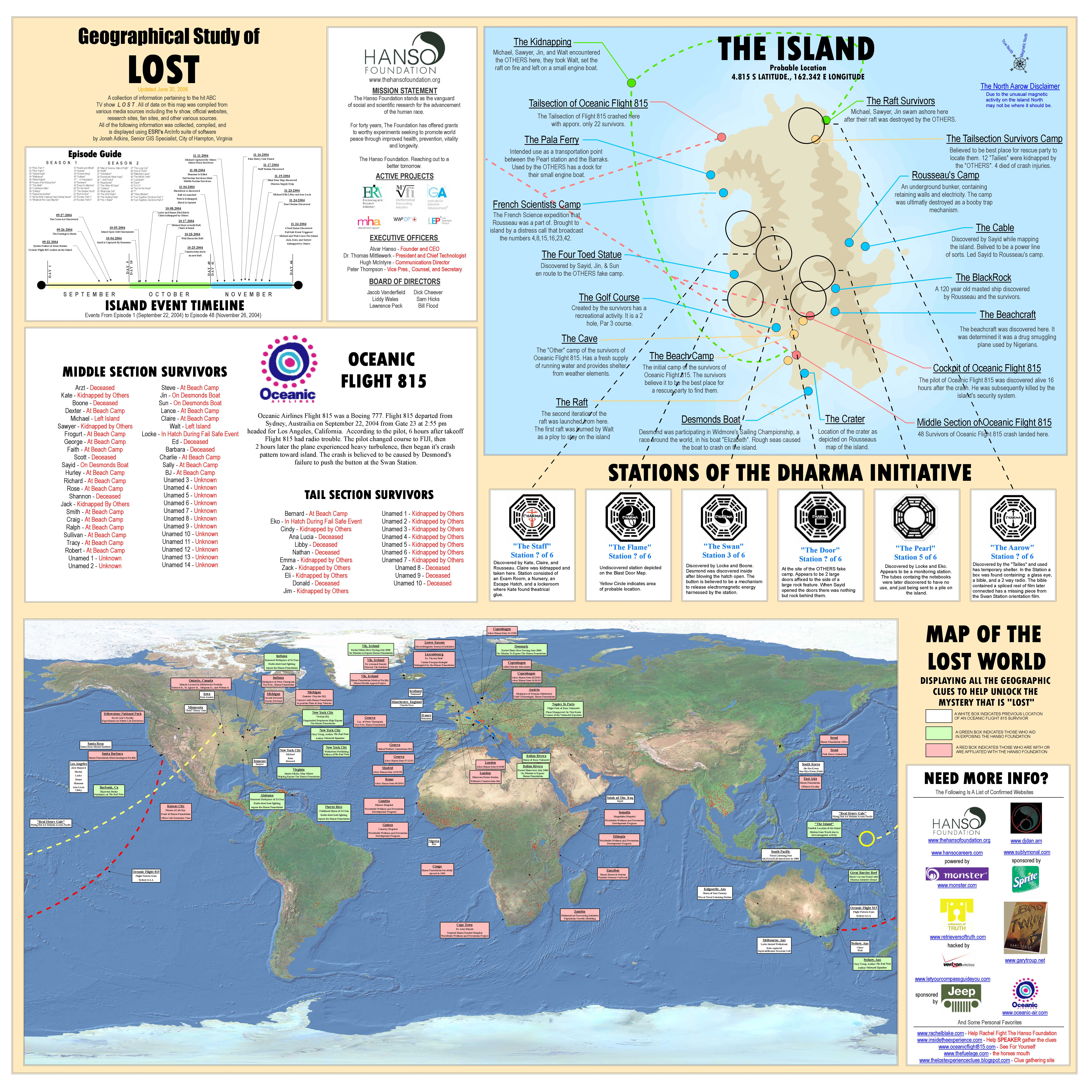 Lost Map Of The Island Dharma Initiative Dvdbash