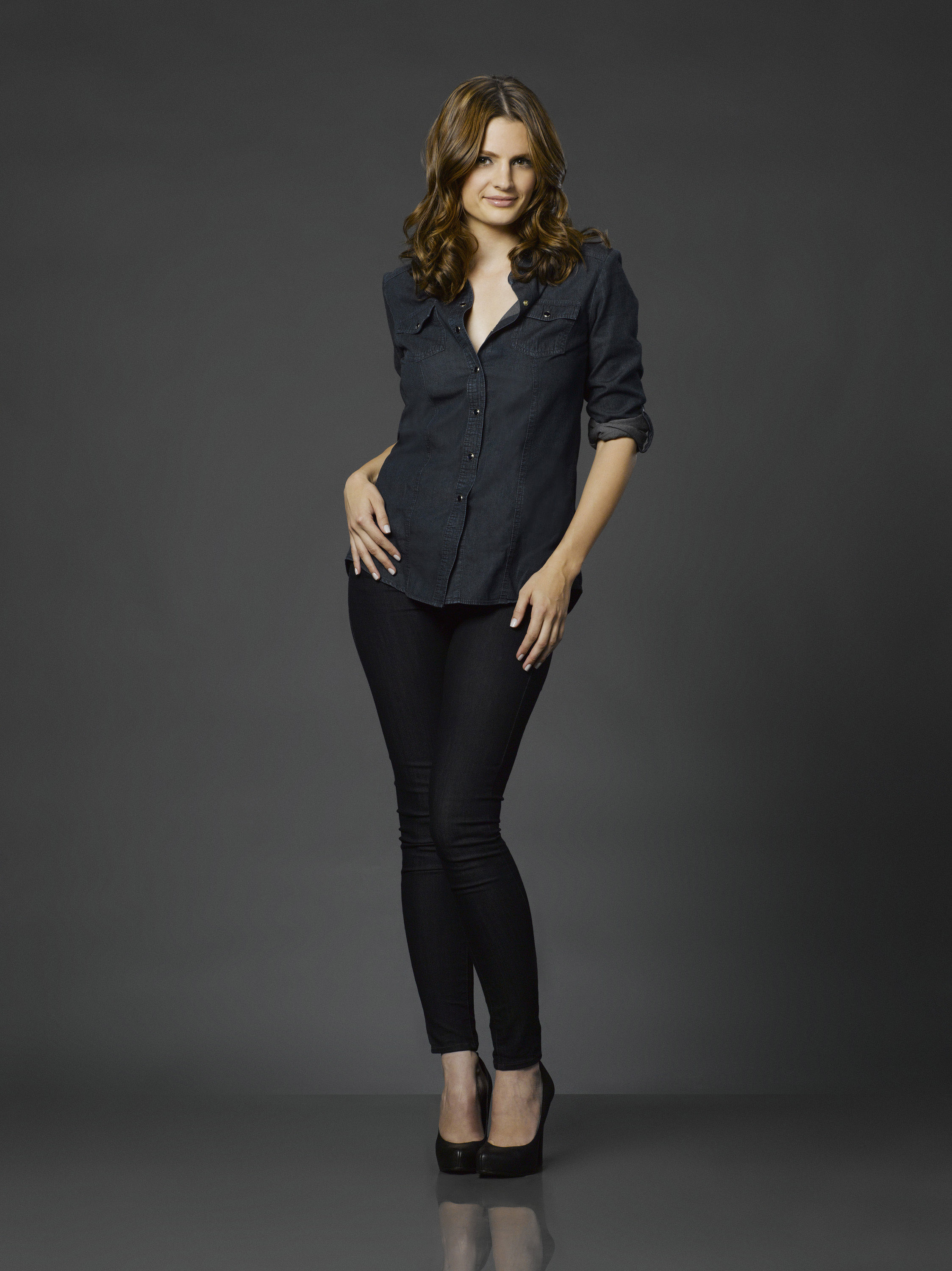 Castle TV Series, Stana Katic as Kate Beckett | DVDbash