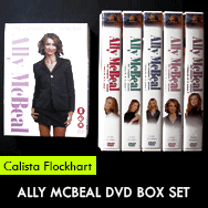 Ally McBeal DVD Box Set pictures – Calista Flockhart