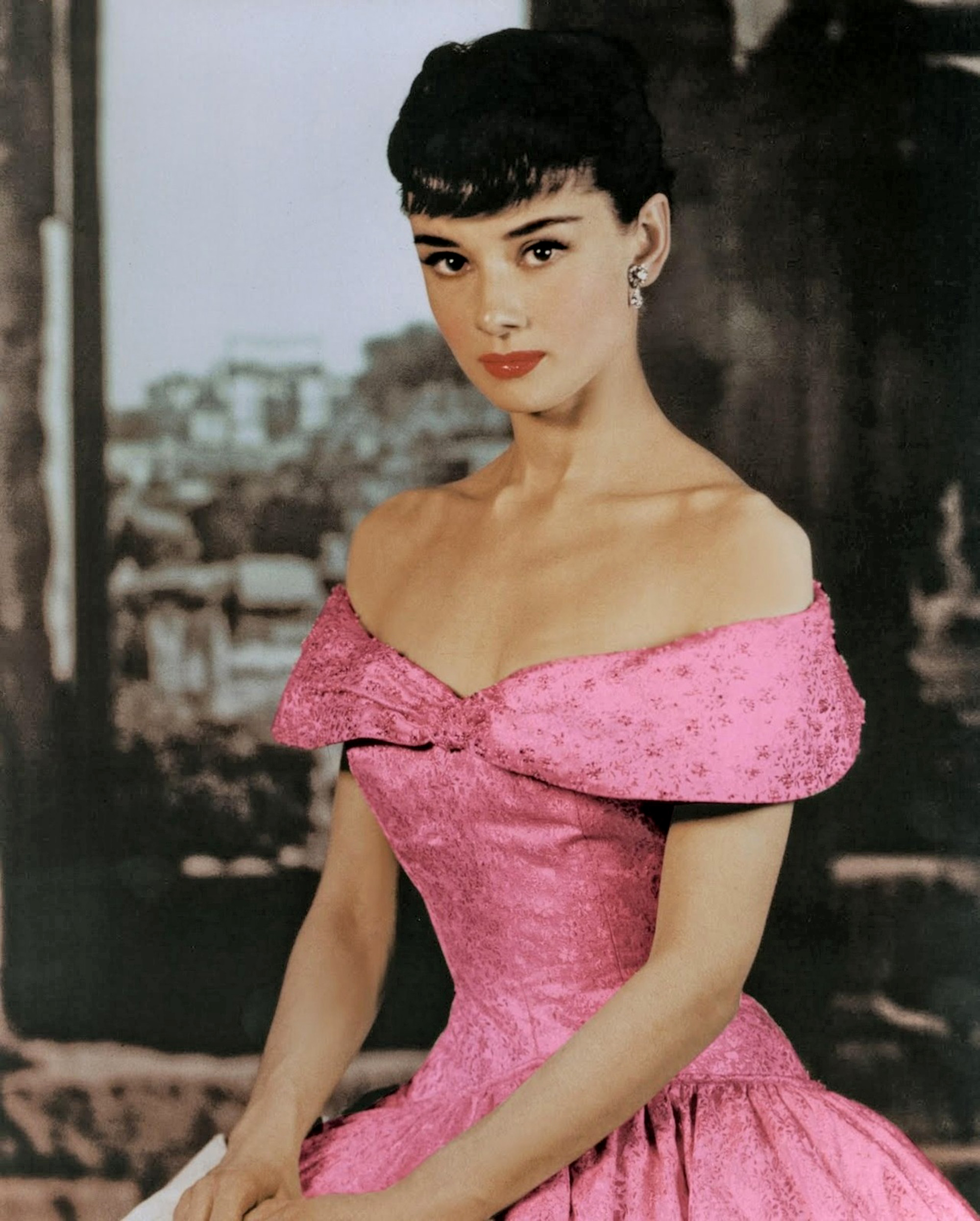 Audrey Hepburn, Roman Holiday (1953) starring Gregory Peck ...