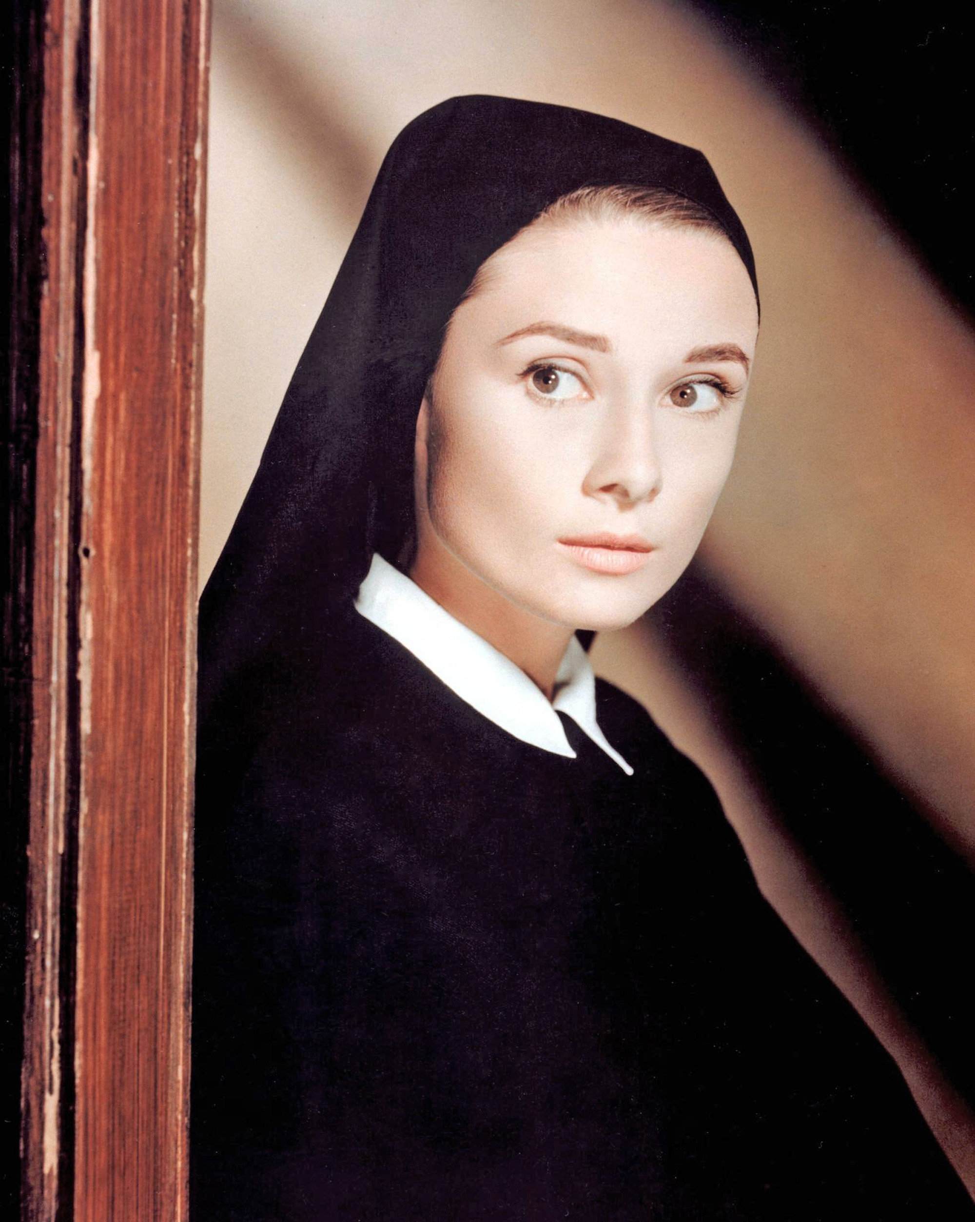Audrey Hepburn The Nuns Story 1959 Directed By Fred Zinnemann on Music Word Search