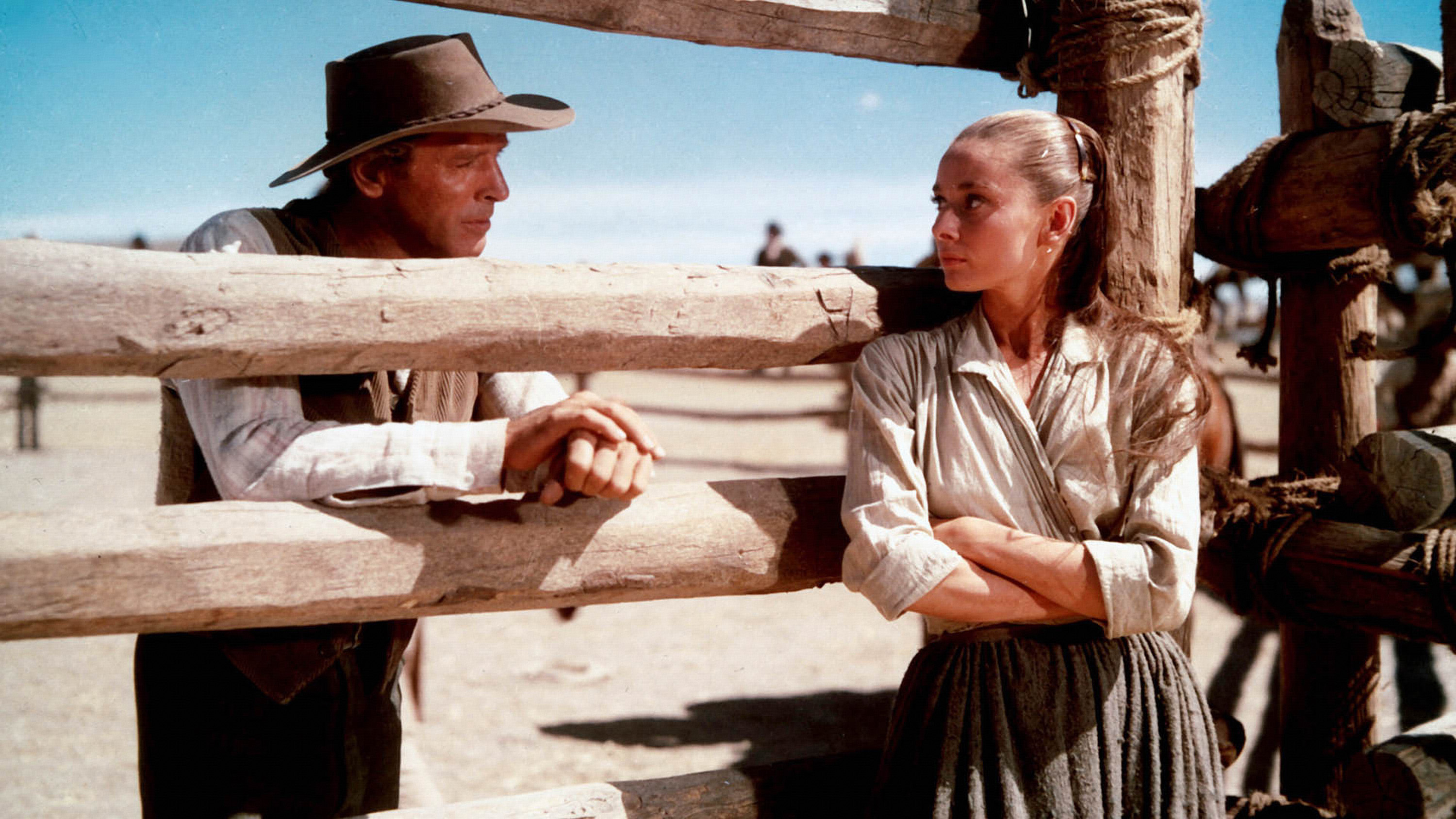 Audrey Hepburn The Unforgiven 1960 Starring Burt