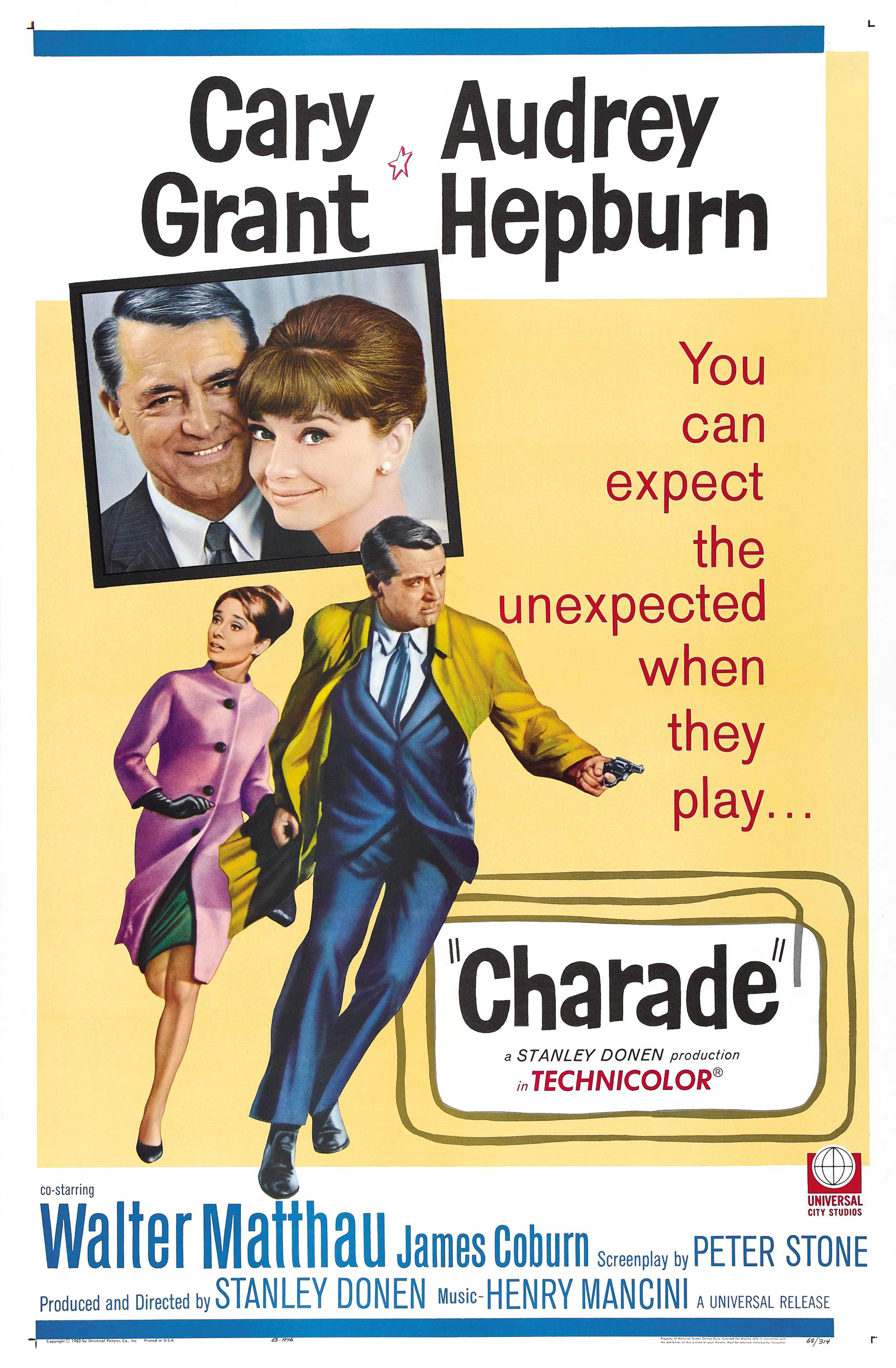 Audrey Hepburn, Charade (1963) starring Cary Grant | DVDbash