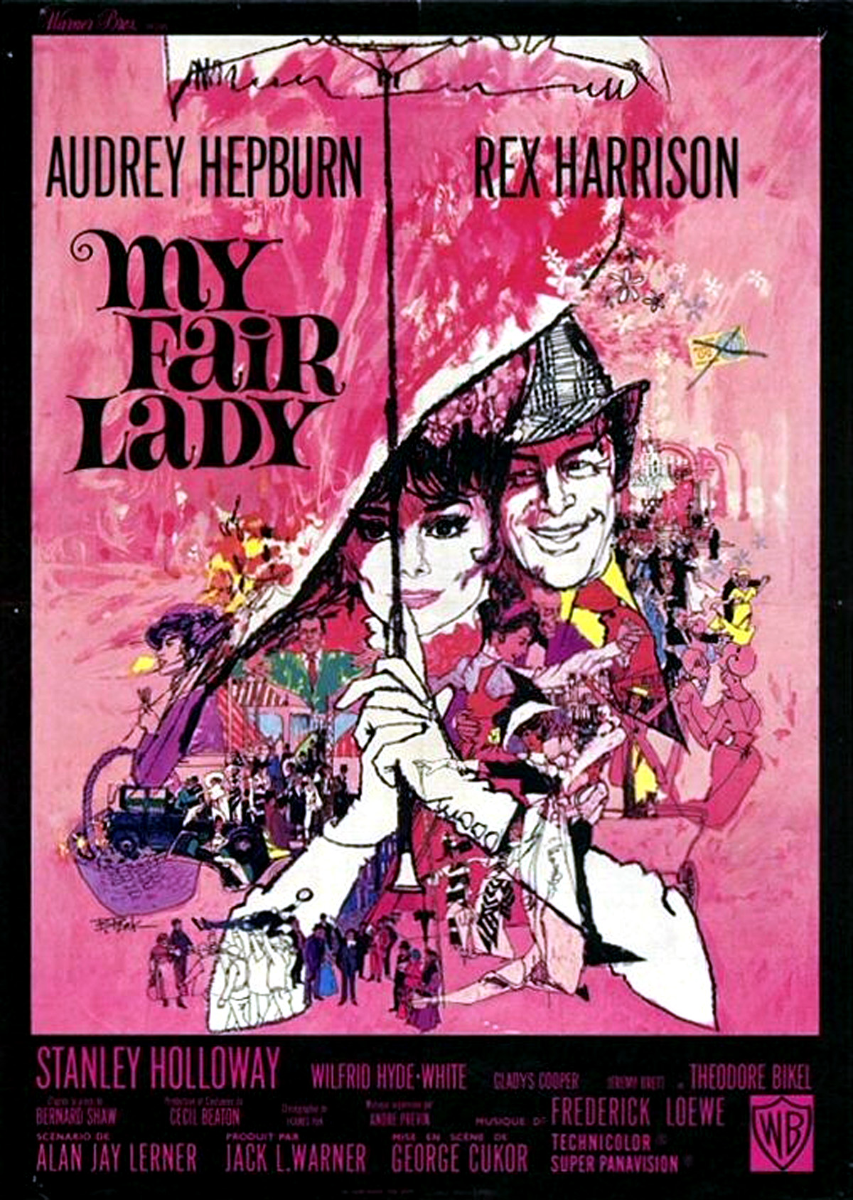 audrey hepburn my fair lady 1964 starring rex harrison dvdbash. Black Bedroom Furniture Sets. Home Design Ideas