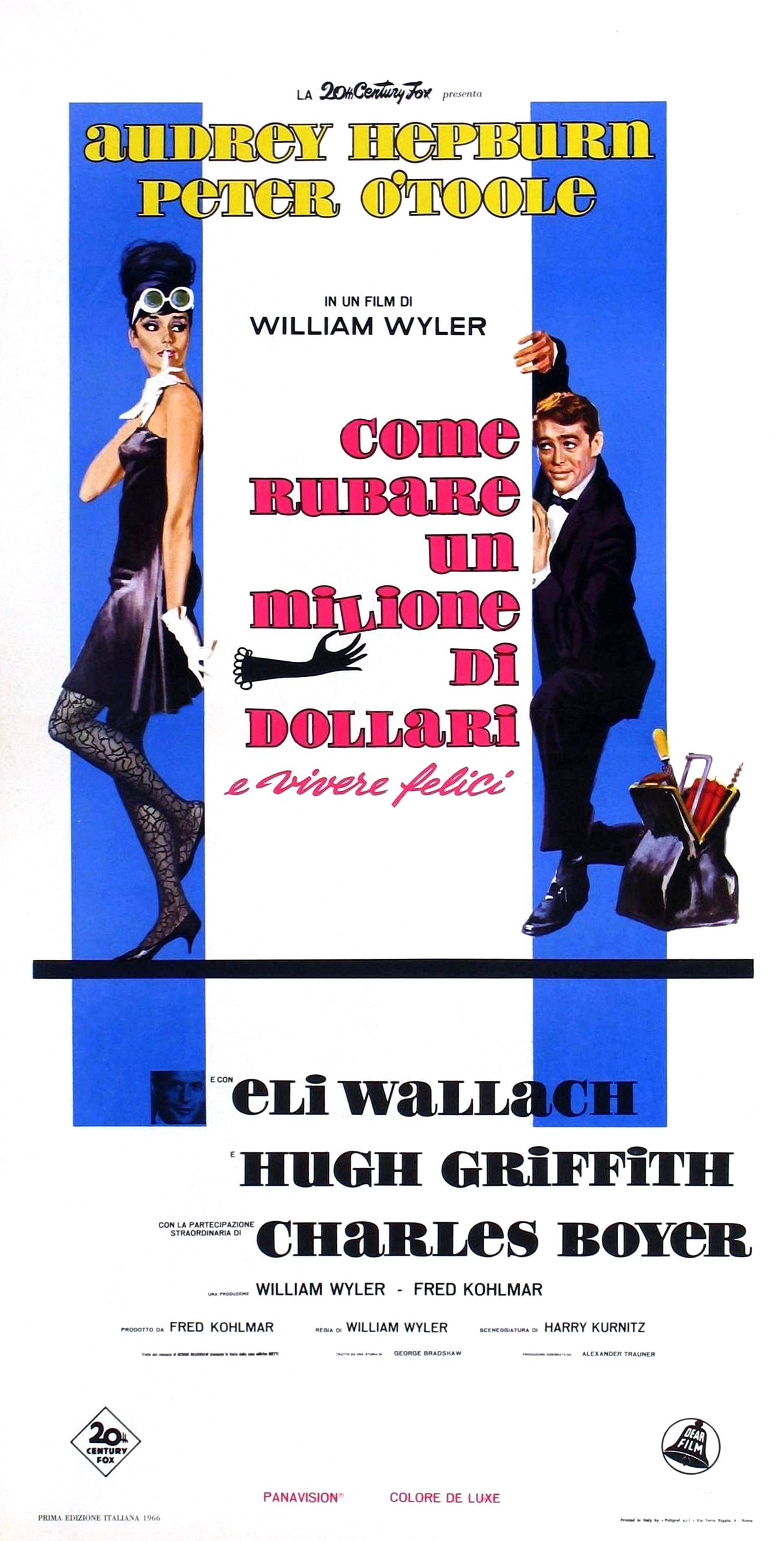 audrey hepburn how to steal a million 1966 starring