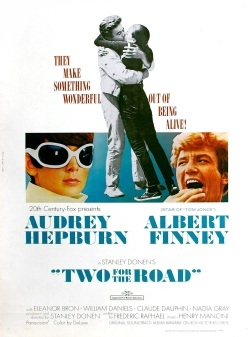 Risultati immagini per TWO FOR THE ROAD ( 1967 ) poster