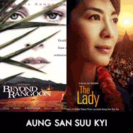 Aung San Suu Kyi, Patricia Arquette, Beyond Rangoon, Michelle Yeoh, The Lady