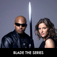 Blade TV show, complete DVD series, Jill Wagner and Sticky Fingaz