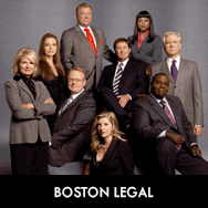 Boston Legal, Julie Bowen, Lake Bell, Monica Potter, Rhona Mitra, Saffron Burrows