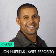 Castle TV Series, Jon Huertas as Javier Esposito