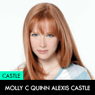 Castle TV Series, Molly C Quinn as Alexis Castle