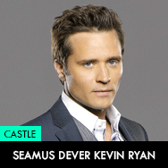 Castle TV Series, Seamus Dever as Kevin Ryan