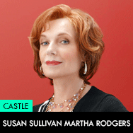 Castle TV Series, Susan Sullivan as Martha Rodgers