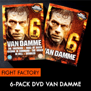 Van Damme 6 Pack Movies DVD Fight Factory