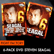 Steven Seagal 6 Pack Movies DVD Fight Factory