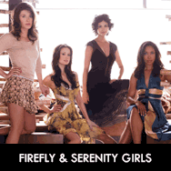 Firefly & Serenity Jewel Staite Summer Glau Morena Baccarin Gina Torres