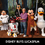 George Lucas sells his empire to Disney