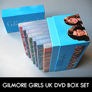 Gilmore Girls Complete DVD series Amazon.co.uk Exclusive Box Set