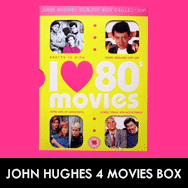 Some Kind Of Wonderful / Pretty In Pink / Planes, Trains And Automobiles/Ferris Buellers Day Off DVD