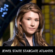 Jewel Staite as Dr. Jennifer Keller on Stargate Atlantis