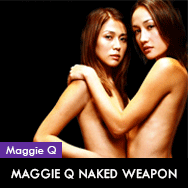 Maggie Q Naked Weapon PETA & Mix