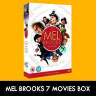 Mel Brooks Movies DVD Collection UK