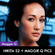Nikita Season 2 on DVD + Maggie Q pictures