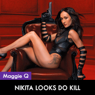 Nikita 2010 TV series Maggie Q