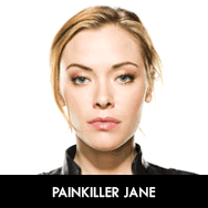 Painkiller-Jane-Kristanna-Loken Cast Photos Emmanuelle Vaugier