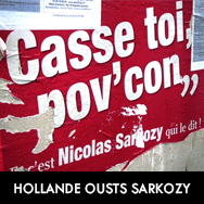 Socialist Hollande ousts Sarkozy as French leader