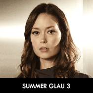 Summer Glau as Orwell Jamie Fleming, The Cape set 3