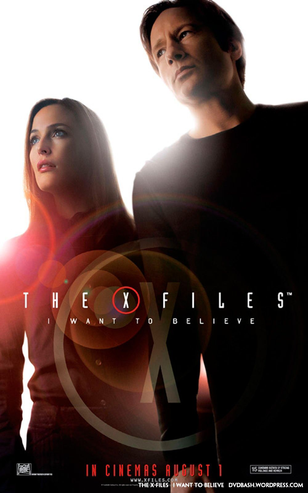 The X-Files Movie I Want to Believe 2008 | DVDbash