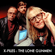X-Files spin-off The Lone Gunmen Complete DVD Series