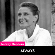 Audrey Hepburn, Always (1989) directed by Steven Spielberg