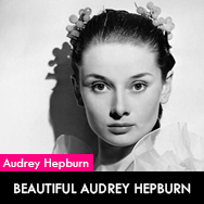Beautiful Audrey Hepburn - Happy new year 2013 !