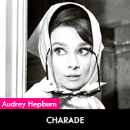 Audrey Hepburn, Charade (1963) starring Cary Grant
