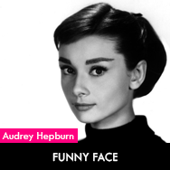 Audrey Hepburn, Funny Face (1957) starring Fred Astaire