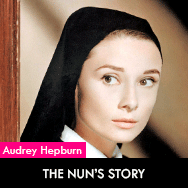 Audrey Hepburn, The Nun's Story (1959) directed by Fred Zinnemann