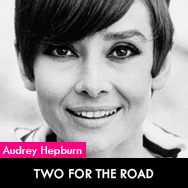 Audrey Hepburn, Two for the road (1967) starring Albert Finney