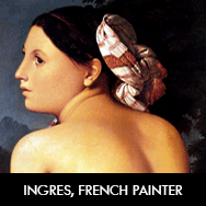 Ingres, French Neoclassical painter