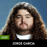 Lost, Jorge Garcia as Hurley (Hugo Reyes)